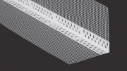Rohová lišta kombi 10/10 PVC + tkanina (Délka lišty 2,5m)