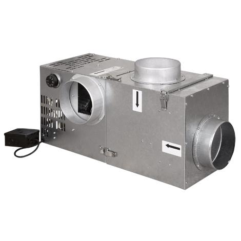 Krbový ventilátor 540 s bypasem