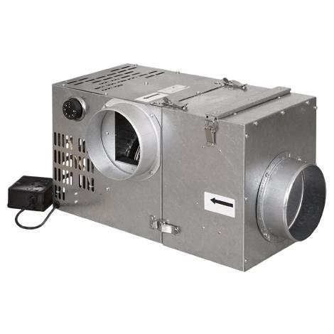 Krbový ventilátor 540 s filtrem