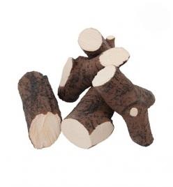 Ozdobné keramické prvky, dřevo - BIO Krby