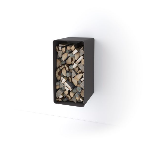 Stojan na dřevo FLAMINGO DELUXE ® 4, černá