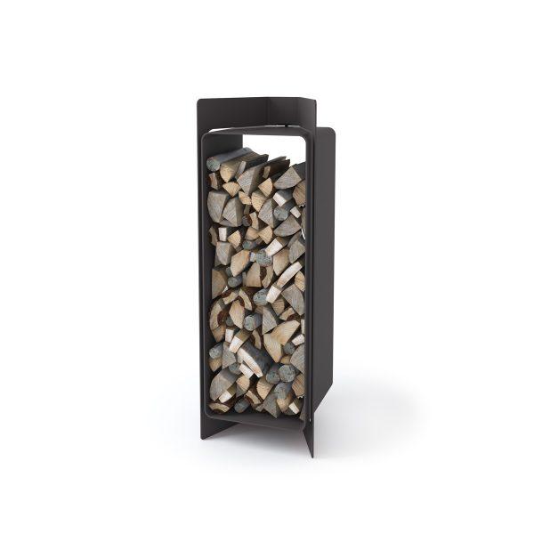 Stojan na dřevo FLAMINGO DELUXE ® 3, černá