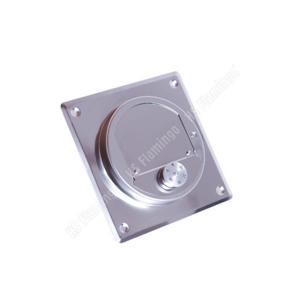 Regulátor komínového tahu čtvercový 140x140 mm